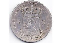 ½ gulden 1868 ZG+