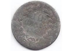 10 cent 1850  slecht