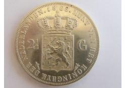 2½ Gulden 1868 UNC
