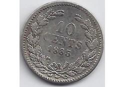 10 cent 1885 F-
