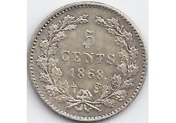 5 cent 1868 P/ZF