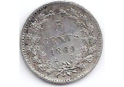 5 cent 1869 ZF-