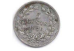 5 cent 1876 ZF