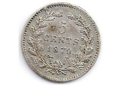 5 cent 1879 ZF/P-