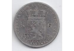 ½ gulden 1848/7 F