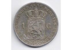 1 gulden 1848 F+