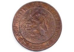 2½  cent 1883  F/ZG