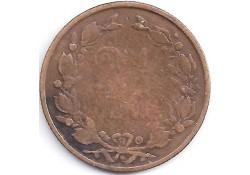 2½ cent 1883  ZG-/G