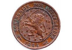 1 cent 1884 ZF+