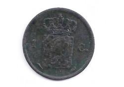 1 cent 1821U F-
