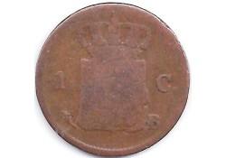 1 cent 1822B G+