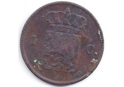1 cent 1823U ZG+