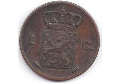 1 cent 1827U F