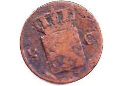 ½ cent 1827U G