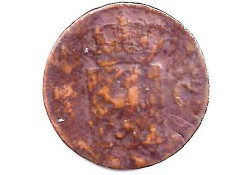 ½ cent 1827U G-
