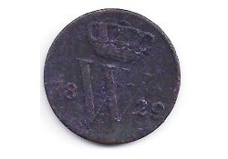 ½ cent 1829U G-
