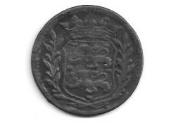 West Friesland duit 1739 ZF