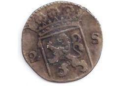 Holland 2 stuiver (dubbele stuiver) 1723 F