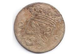 Holland 2 stuiver (dubbele stuiver) 1766 F-