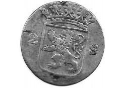 Holland 2 stuiver (dubbele stuiver) 1778 F+