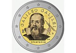 2 Euro Italië 2014 Galileo Galilei Unc Voorverkoop*