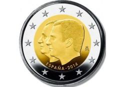 2 Euro Spanje 2014 Troonswisseling Juan Carlos-Felipe Unc Voorverkoop*