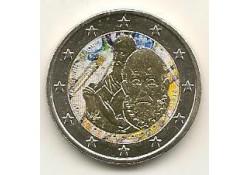 2 Euro Griekenland 2014 Domeniko Theotopoulos  Gekleurd