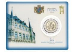 2 Euro Luxemburg 2014 175 jaar onafh. Bu in coincard