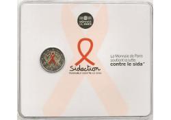 2 Euro Frankrijk 2014 Wereld anti aids dag