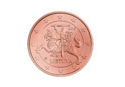 5 Cent Litouwen 2015 Unc