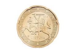 20 Cent Litouwen 2015 Unc