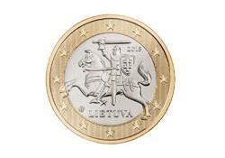 1 Euro Litouwen 2015 Unc