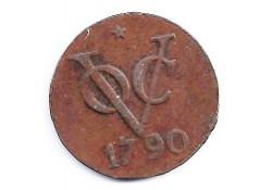 dubbele duit 1790 ZF-