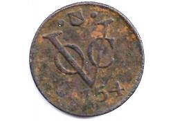 1 duit VOC Utrecht 1754 ZF