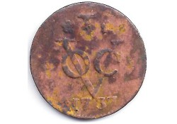 1 duit VOC Wesr-Friesland 1737 F-