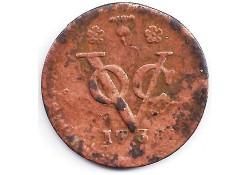 1 duit VOC Wesr-Friesland 1736 F