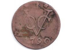 1 duit VOC Gelderland 1790 F