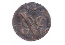 1 duit VOC Zeeland 1786 F