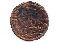 1 duit Gelderland 1634 F