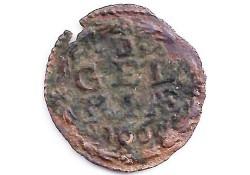 1 duit Gelderland 1668 F