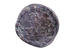duit Utrecht 1637 F