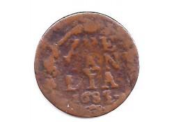 1 duit Zeeland 1683 F-