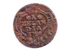1 duit Zeeland 1758 F+