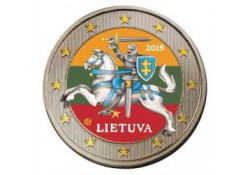 Litouwen 2015 2 euro gekleurd