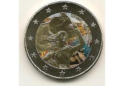 2 Euro Malta 2014 Independence 1984 Gekleurd