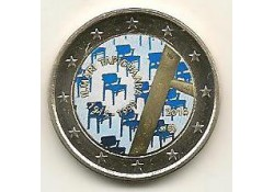 2 euro Finland 2014 Ilmari Tapiovaara Gekleurd