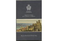 Proofset San Marino 2014 inclusief 2 euro Bramante