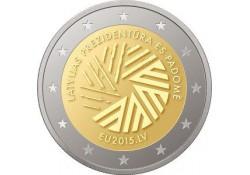 2 Euro Letland 2015 Voorzitter Eu Voorverkoop*