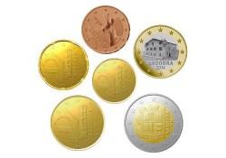 Jaarserie Andorra 2014 5 cent t/m 2 euro