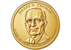 KM ??? U.S.A. 28 th President Dollar 2015 D Harry S. Truman